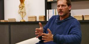 Antonio Álamo en la Escuela Superior de Arte Dramático del Principado de Asturias
